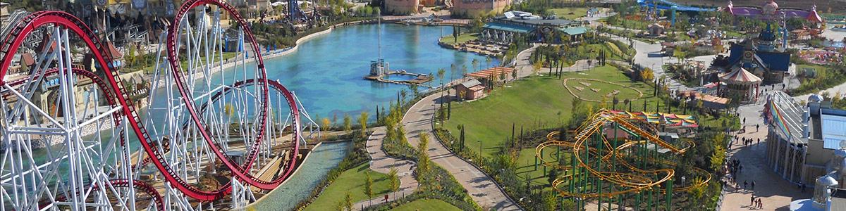 Caneva World si trova a Lazise sul lago di Garda